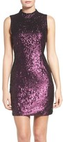 French Connection Women's Sequin Body-Con Dress