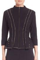 La Petite Robe di Chiara Boni Eduarda Studded Jacket