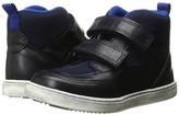 Armani Junior High Top Hook-and-Loop Sneaker Boy's Shoes