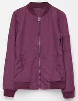 Full Tilt Girls Bomber Windbreaker Jacket