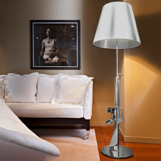 Flos Chrome Lounge Gun Lamp