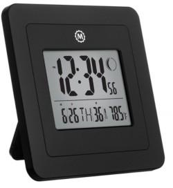 Marathon Digital Wall Clock Large Display, Moon Phase, Date and Indoor Temperature