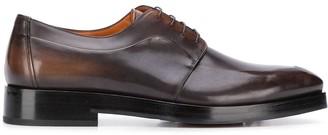 Santoni derby lace-up shoes