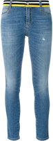 Ermanno Scervino embellished back skinny jeans - women - Cotton/Spandex/Elastane - 40