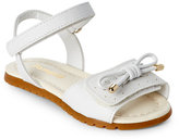 Pampili Toddler/Kids Girls) White Candy Two-Piece Sandals
