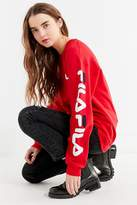 Fila + UO Double Logo Crew-Neck Sweatshirt