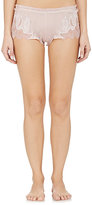 Carine Gilson Women's Georgette Shorts-IVORY, PINK
