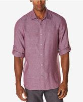 Perry Ellis Men's Big & Tall Linen Blend Shirt