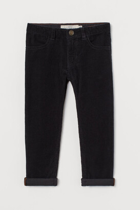 H&M Slim Fit Corduroy trousers