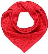 Lulu Guinness SCATTERED LIPS Scarf red