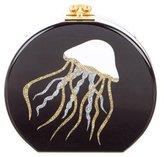 Edie Parker Jellyfish Resin Clutch
