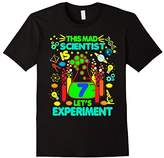 Birthday Shirt Age 7 Seven Boys Girls Science Theme Party