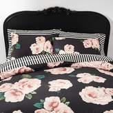 Pottery Barn Teen Emily /& Meritt Marigold Rose Sheets Black//Blush King NEW