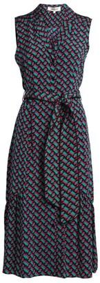 Diane von Furstenberg Delilah Midi Shirt Dress