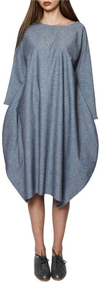 Keegan FULL MOON DRESS Grey S/M
