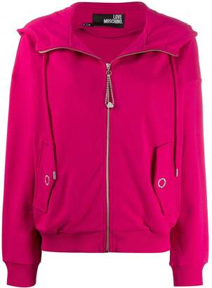 Love Moschino hooded jacket
