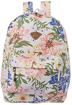 Billabong Schools Out Backpack (White/Multi) Backpack Bags