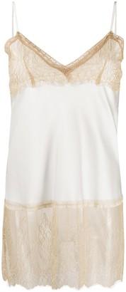 Twin-Set Lace-Trim Camisole