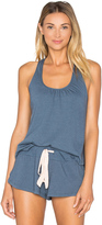 Eberjey Heather Shelf Bra Racerback Tank