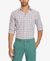 Mens Pink Plaid Shirt Ralph Lauren - ShopStyle