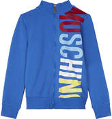 Moschino Big Logo Zip-up Top 4-14 Years