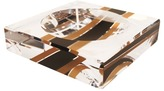 Acrylic Racing Stripe Candy Bowl