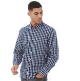Levi's Mens Sunset One Pocket Shirt Cottontail Dress Blues