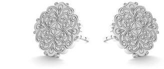 Daixa Somed Mini Baroque Silver Earrings