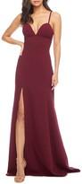 Dress the Population Alejandra Crepe Evening Gown