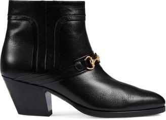 Gucci Women's boot with Interlocking G Horsebit
