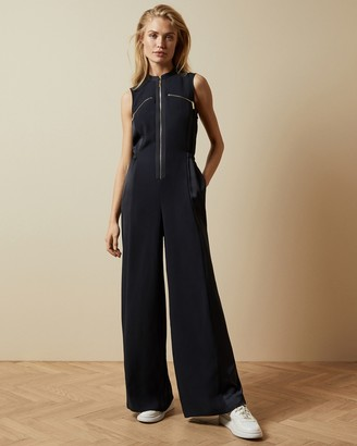 Ted Baker KIBERLY Sleeveless zipped jumpsuit