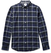 Norse Projects - Anton Button-down Collar Checked Cotton-flannel Shirt