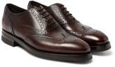 Paul Smith Bradley Leather Brogues - Dark brown