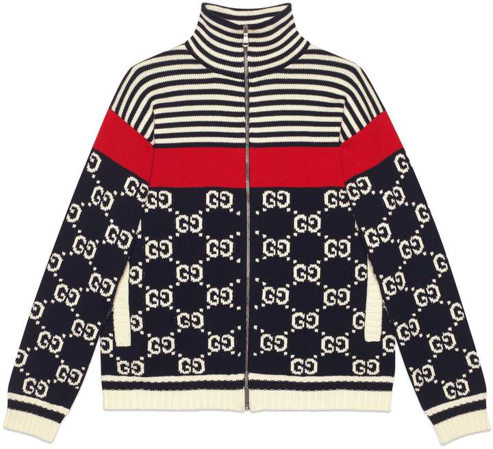 626fd6eb5 Gucci Mens Gg Jacket - ShopStyle
