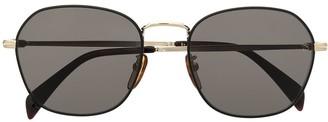 David Beckham Curved Square Frame Sunglasses