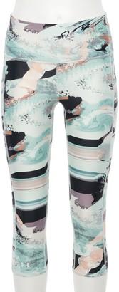 Under Armour Women's HeatGear Printed High-Waisted Capri Leggings