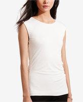 Lauren Ralph Lauren Cutout-Back Jersey T-Shirt