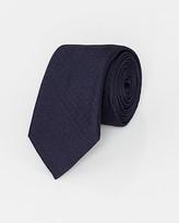 Le Château Italian-Made Tonal Dot Print Silk Tie