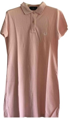 Fred Perry Pink Cotton Dress for Women