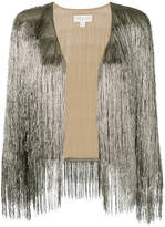 Rachel Zoe fringed tinsel jacket