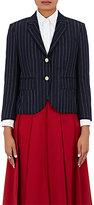 Thom Browne Women's Chalk-Striped Wool Twill Little Boy Jacket