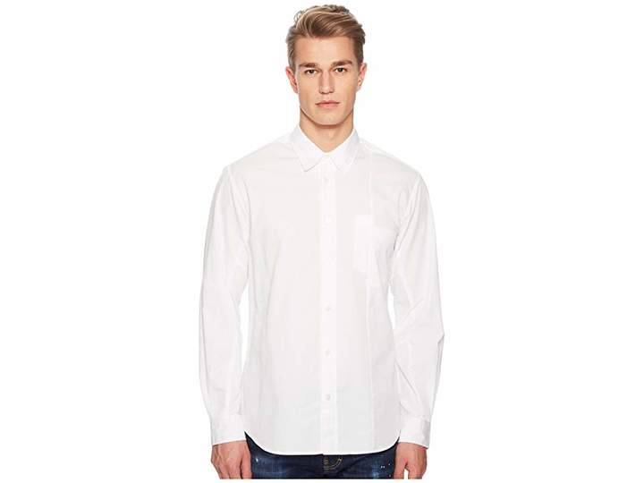 McQ Mismatched Pocket Shirt Men's Clothing