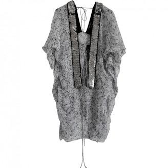 Thomas Wylde Grey Silk Swimwear for Women