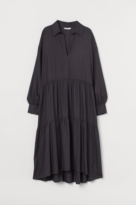 H&M Voluminous Dress - Gray