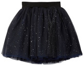 Hannah Banana Mesh Tutu Skirt With Hologram Speckle (Little Girls)
