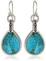 Barse Silhouette Sterling Silver -Drop Earrings