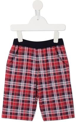 Familiar plaid shorts