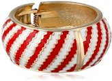 "Amrita Singh Resort"" Red Kimmy Cuff Bracelet"