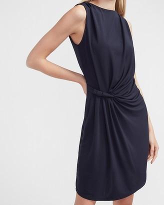 Express Sleeveless Side Twist Sheath Dress