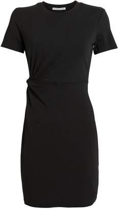 Alexander Wang Twisted Cut-Out Jersey Dress